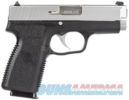 "Kahr Arms KP4043 P40 Standard 40 S&W Double 3.5"" 6+1 Black Polymer Grip Stainless Steel Slide  Guns > Pistols > Kahr Pistols"
