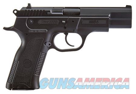 "Sar USA B69BL B6 Black Single/Double 9mm Luger 4.50"" 17+1 Black Polymer Grip Black  Guns > Pistols > S Misc Pistols"