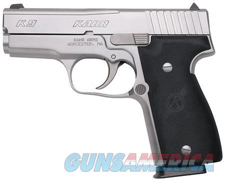 "Kahr Arms K9093 K9 9mm  9mm Luger 3.50"" 7+1 Stainless Steel Black Synthetic Grip  Guns > Pistols > Kahr Pistols"