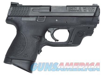 "Smith & Wesson 10177 M&P 40 Compact Crimson Trace Laserguard 40 S&W Double 3.5"" 10+1 Black  Guns > Pistols > Smith & Wesson Pistols - Autos > Polymer Frame"