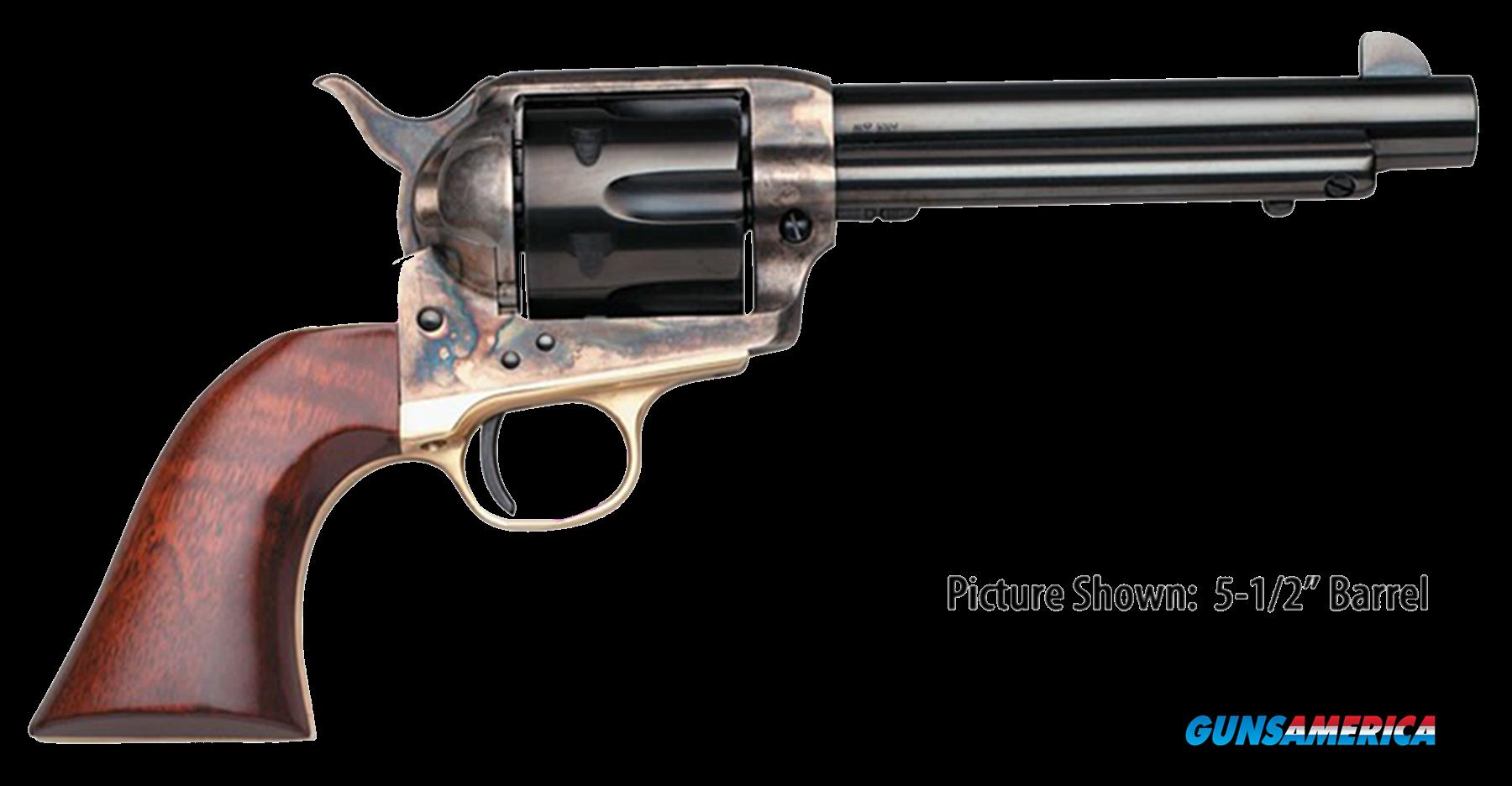 "Taylors 450 1873 Ranch Hand 45 Colt (LC) 4.75"" 6rd Walnut CH Frame Blued  Guns > Pistols > Taylors & Co. Pistols > Ctg."