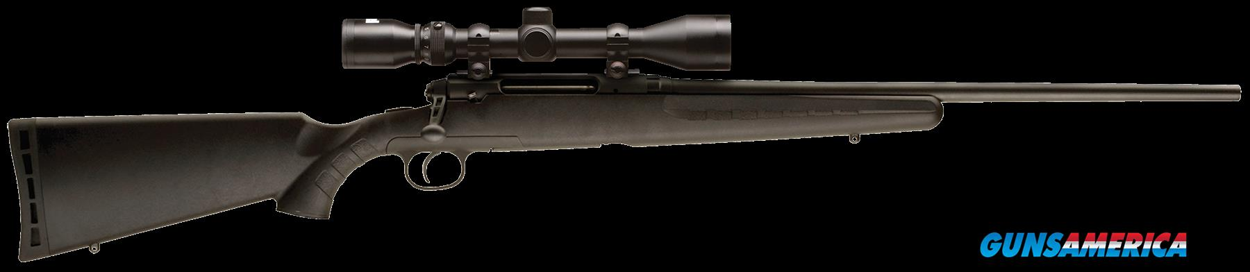 "Savage 19233 Axis XP with Scope Bolt 270 Winchester 22"" 4+1 Synthetic Black Stk Blued  Guns > Rifles > S Misc Rifles"