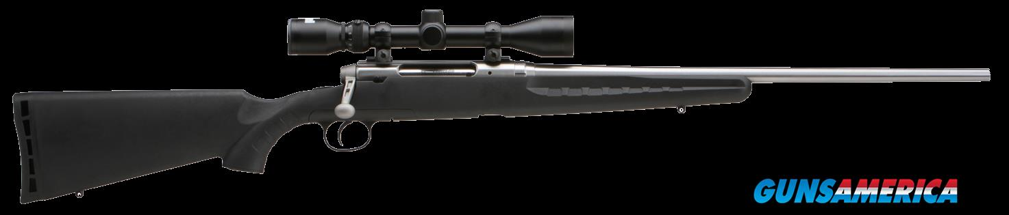 "Savage 19178 Axis XP with Scope Bolt 308 Win/7.62 NATO 22"" 4+1 Synthetic Black Stk Stainless Steel  Guns > Rifles > S Misc Rifles"