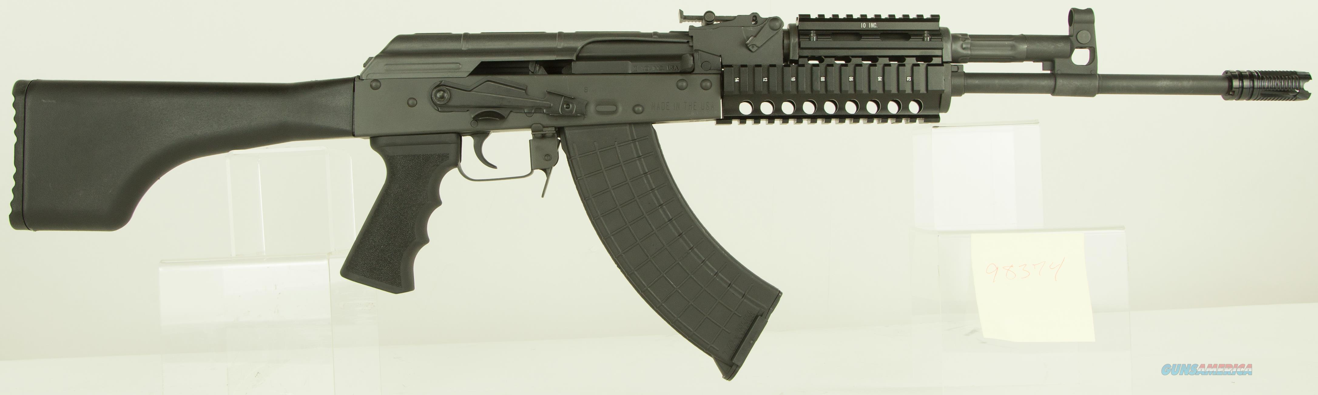 "I.O. IODM2020 AKM247 Tactical Rifle Semi-Automatic 7.62x39mm 16.25"" 30+1 Synthetic Black Stk Black  Guns > Rifles > AK-47 Rifles (and copies) > Full Stock"