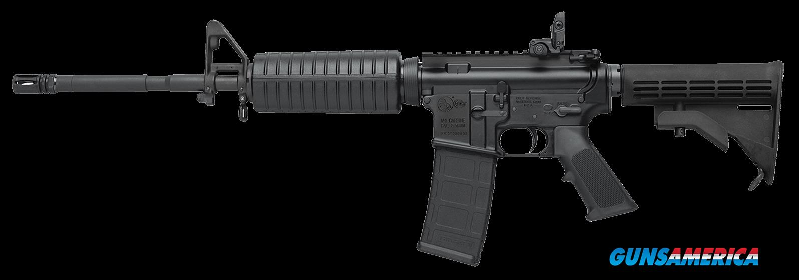 "Colt LE6920 AR-15 Carbine SA 223/5.56 16.1"" 30+1 PMAG MBUS 4-Pos Stk Blk  Guns > Rifles > Colt Military/Tactical Rifles"
