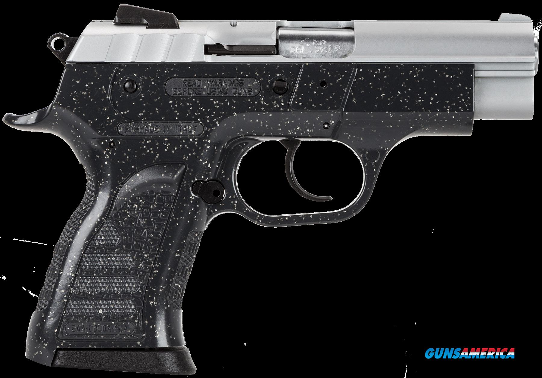 "EAA 999404 Witness Pavona DA/SA 9mm 3.6"" 13+1 Charcoal Poly Grip/Frame Chrome  Guns > Pistols > EAA Pistols > Other"