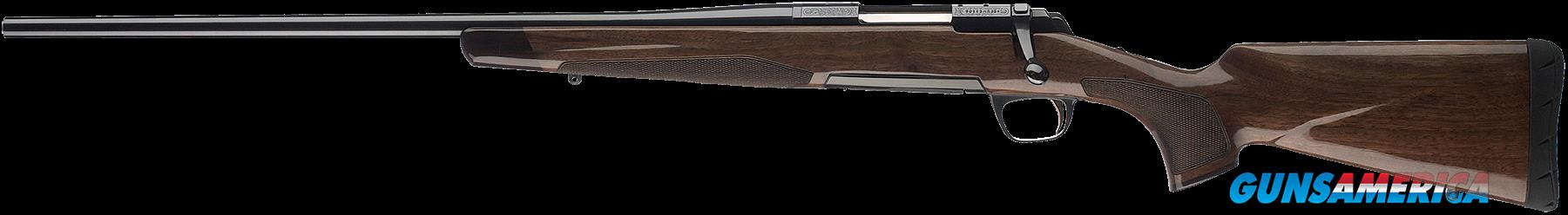 "Browning 035253218 X-Bolt Medallion Left-Hand 308 Win 22"" 4+1 Walnut Stock Blued  Guns > Rifles > Browning Rifles > Bolt Action"