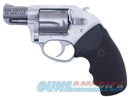 """Charter Arms 53810 Undercover On Duty  Revolver Single/Double 38 Special 2"""" 5 Rd Black Rubber Grip  Guns > Pistols > Charter Arms Revolvers"""