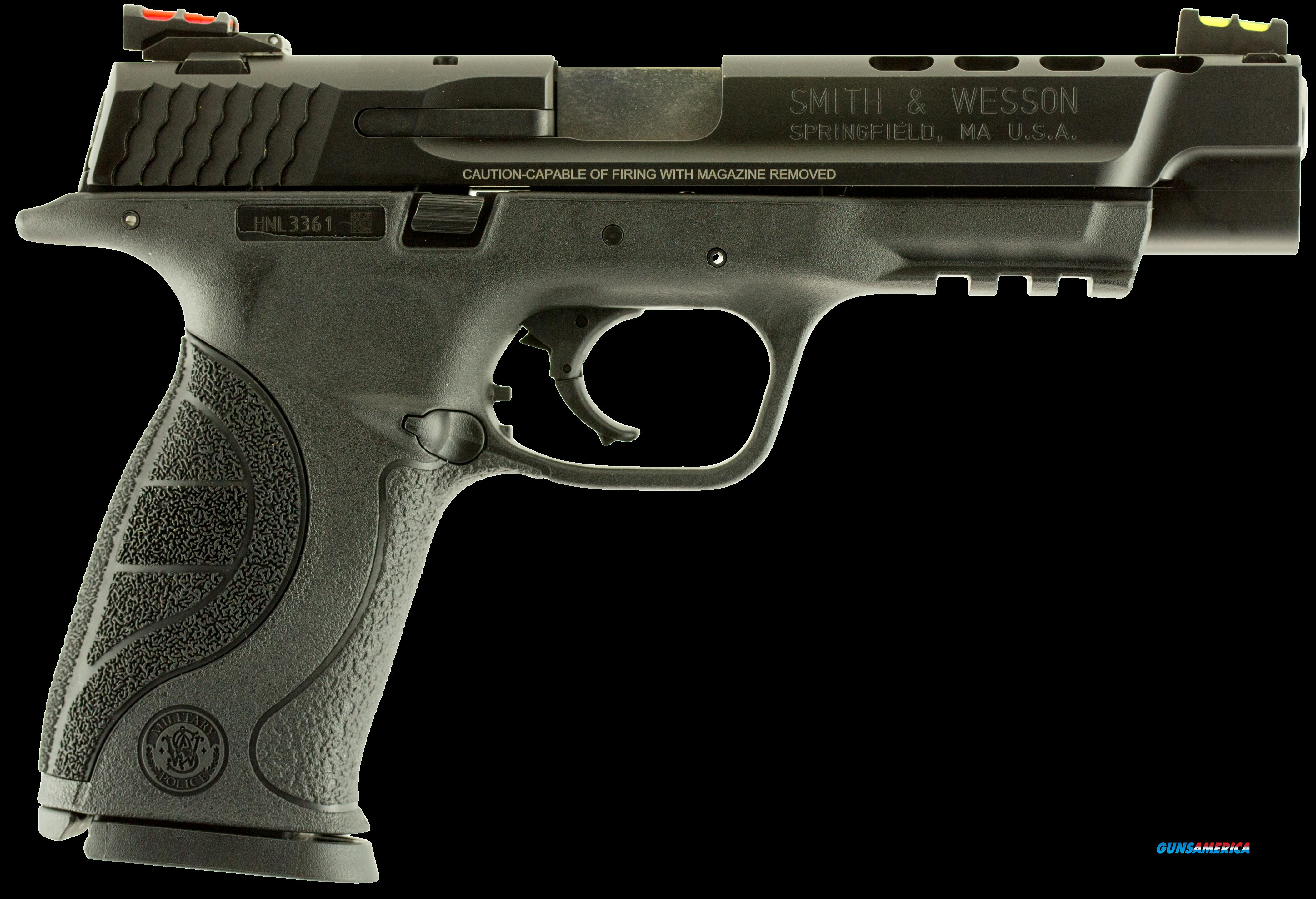 "Smith & Wesson 10220 M&P 40 Double 40 Smith & Wesson (S&W) 5"" Ported 15+1 Black Interchangeable  Guns > Pistols > S Misc Pistols"