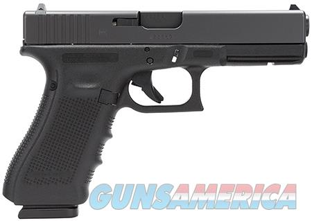 "Glock PG3150201 G31 Gen 4 Double 357 Sig 4.48"" 10+1 Black Interchangeable Backstrap Grip Black  Guns > Pistols > G Misc Pistols"