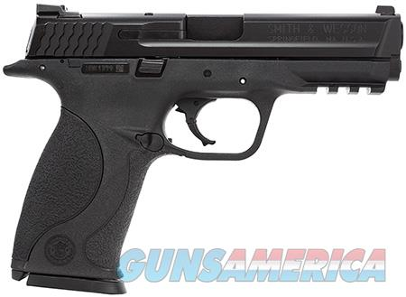 """Smith & Wesson 109250 M&P 40 *MA Compliant* 40 S&W MS Double 4.25"""" 10+1 Black Interchangeable  Guns > Pistols > Smith & Wesson Pistols - Autos > Polymer Frame"""