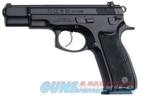 "CZ 01130 CZ 75 75-B 9mm Luger Single/Double 4.6"" 10+1 Black Polymer Grip Black Slide  Guns > Shotguns > CZ Shotguns"