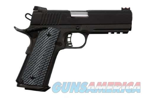 Rock Island Armory M1911-A1 MS TACT 2011 10MM G10 TACTICAL RAIL | G10 POLY GRIPS  Guns > Pistols > Armscor Pistols > Rock Island