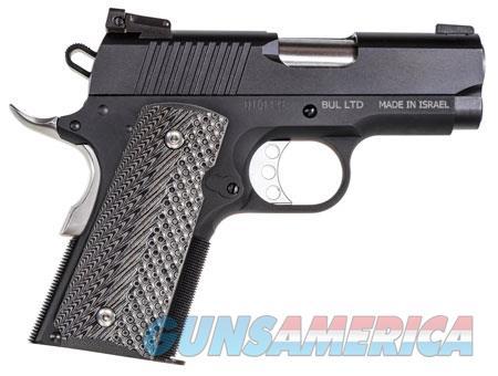 "Magnum Research DE1911U Desert Eagle 1911 Undercover 45 ACP Single 3"" 6+1 Black/Gray G10 Grip Black  Guns > Pistols > Magnum Research Pistols"