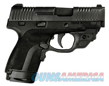"Honor Defense HG9SCCT Honor Guard Sub-Compact with Crimson Trace 9mm Luger 3.20"" 7+1/8+1 Black  Guns > Pistols > Honor Defense Pistols"