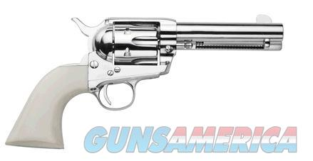 Traditions 1873 SA 357M NKL/WHT 4.75 FRONTIER SERIES  Guns > Pistols > TU Misc Pistols