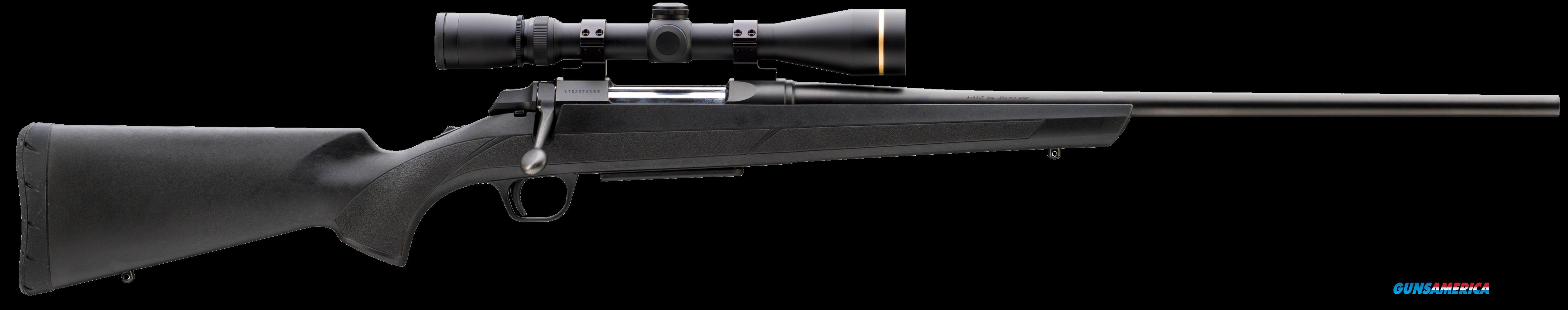 "Browning 035800211 AB3 Composite Stalker Bolt 243 Winchester 22"" 5+1 Black Synthetic Stock Blued  Guns > Rifles > Browning Rifles > Bolt Action"