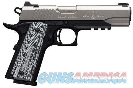 "Browning 051927492 1911 Black Label Pro with Rail Single 380 Automatic Colt Pistol (ACP) 4.25"" 8+1  Guns > Pistols > Browning Pistols > Other Autos"
