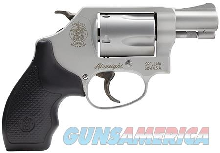 "Smith & Wesson 163050 637 Airweight Single/Double 38 Special 1.875"" 5 Black Synthetic Stainless  Guns > Pistols > Smith & Wesson Revolvers > Pocket Pistols"