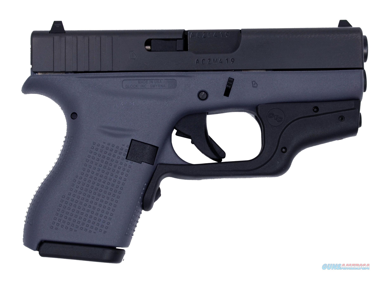 GLOCK G42 G3 GRAY 380ACP 6+1 CT LASR CRIMSON TRACE LASERGUARD  Guns > Pistols > G Misc Pistols