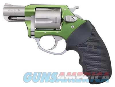 Charter Arms SHAMROCK 38SPC GREEN/SS 2 GRN FRAME/SS BBL AND CYLINDER  Guns > Pistols > Charter Arms Revolvers