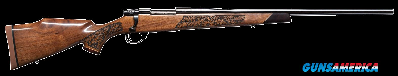"Weatherby VGZ257WR4O Vanguard Laserguard Bolt 257 Weatherby Magnum 24"" 3+1 Walnut Stk Blued  Guns > Rifles > Weatherby Rifles > Sporting"