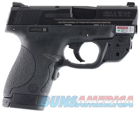 "Smith & Wesson 10147 M&P 40 Shield Crimson Trace Laserguard 40 S&W Double 3.10"" 6+1/7+1 Black  Guns > Pistols > Smith & Wesson Pistols - Autos > Shield"