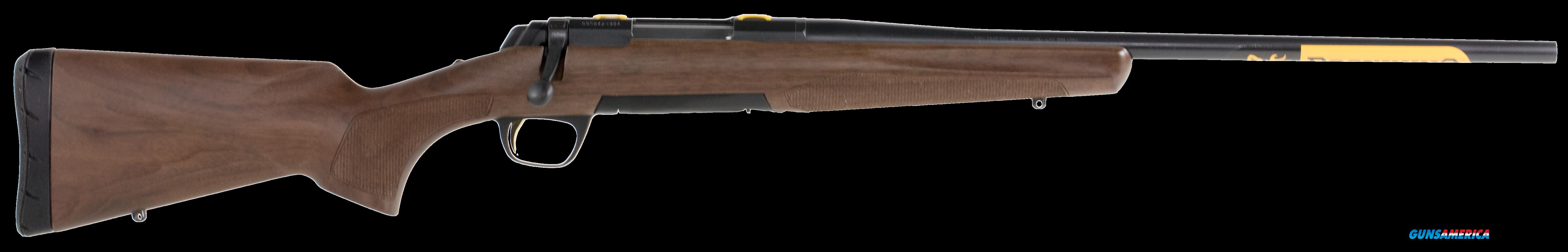 "Browning 035248216 X-Bolt Micro Midas Bolt 7mm-08 Remington 20"" 4+1 Walnut Grade I Stk Blued  Guns > Rifles > B Misc Rifles"