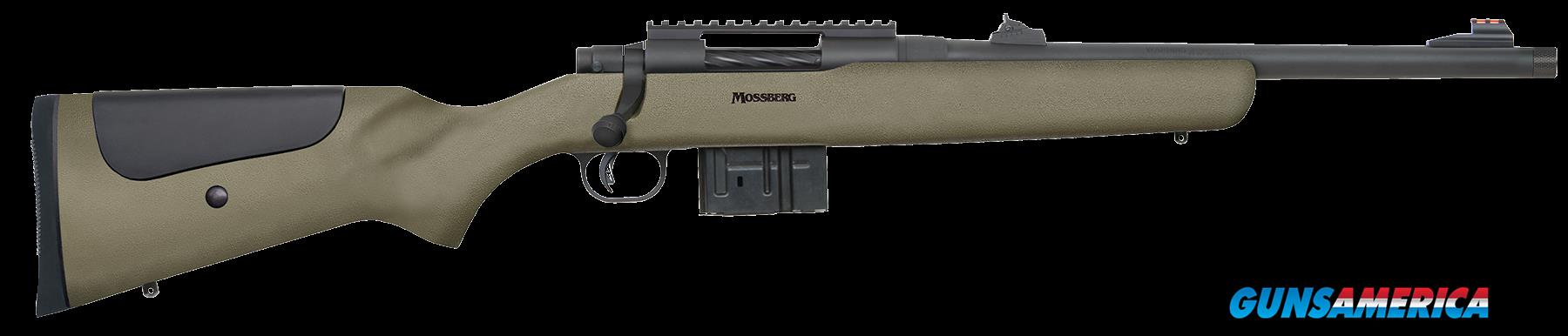"Mossberg 27699 MVP LR Tactical Bolt 308 Winchester/7.62 NATO 16.25"" 10+1 Synthetic Green Stk Blued  Guns > Rifles > MN Misc Rifles"