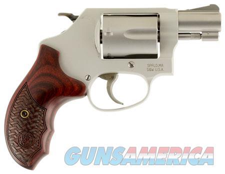 "Smith & Wesson 170349 637 Performance Center SA/DA 38 Special +P 1.875"" 5 Custom Wood Grip Matte  Guns > Pistols > Smith & Wesson Revolvers"
