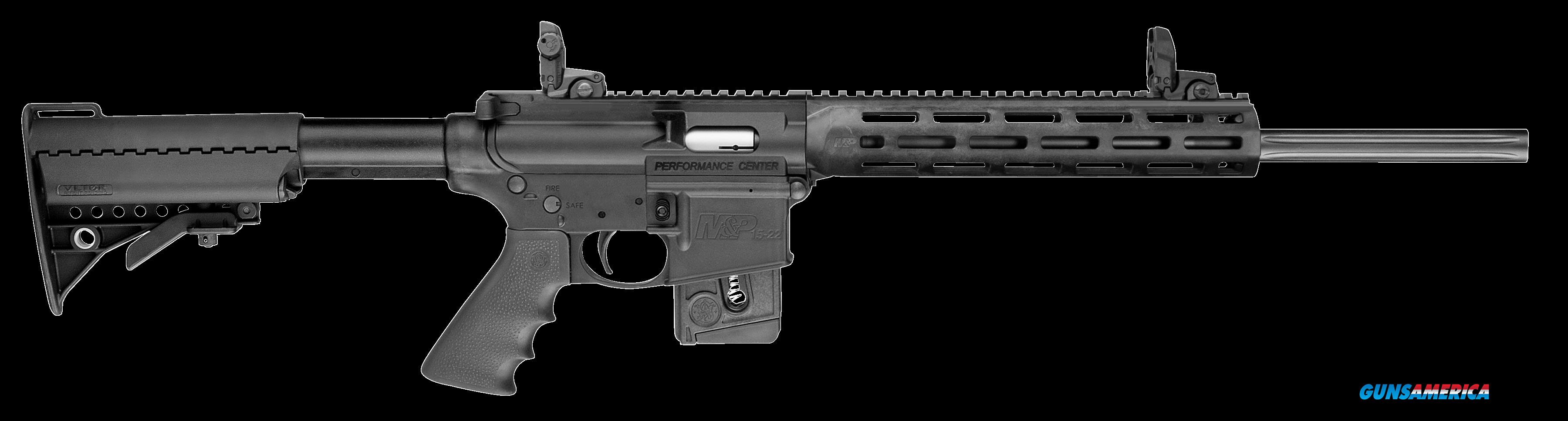 "Smith & Wesson 11507 M&P15-22 Sport *CA Compliant* Semi-Automatic 22 Long Rifle 18"" 10+1 6-Position  Guns > Rifles > S Misc Rifles"