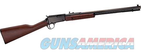 "Henry H003TM Pump  22 Winchester Magnum Rimfire (WMR) 20.5"" 12+1 American Walnut Stk Blued  Guns > Rifles > Henry Rifles - Replica"