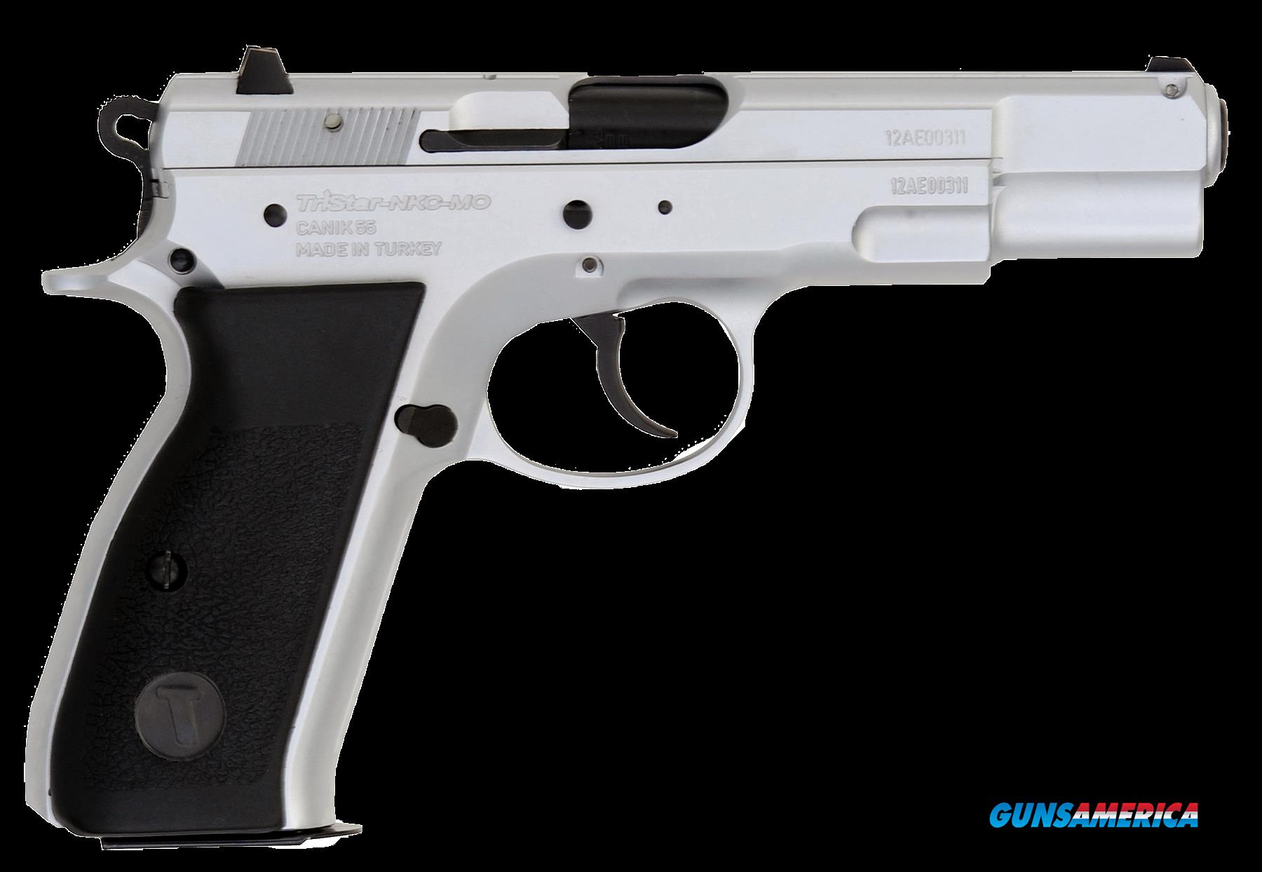 "TriStar 85070 S-120 Steel Single/Double 9mm Luger 4.7"" 17+1 Black Polymer Grip Chromed  Guns > Pistols > TU Misc Pistols"