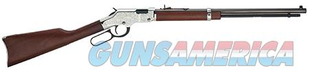 "Henry H004SEV Silver Eagle  17 HMR 11+1 20"" Nickel Plated American Walnut Right Hand  Guns > Rifles > H Misc Rifles"