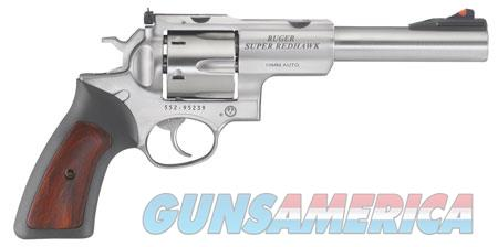 """Ruger 5524 Super Redhawk Standard 10mm Auto Single/Double 6.50"""" 6 Stainless Steel Frame  Guns > Pistols > Ruger Double Action Revolver > Redhawk Type"""