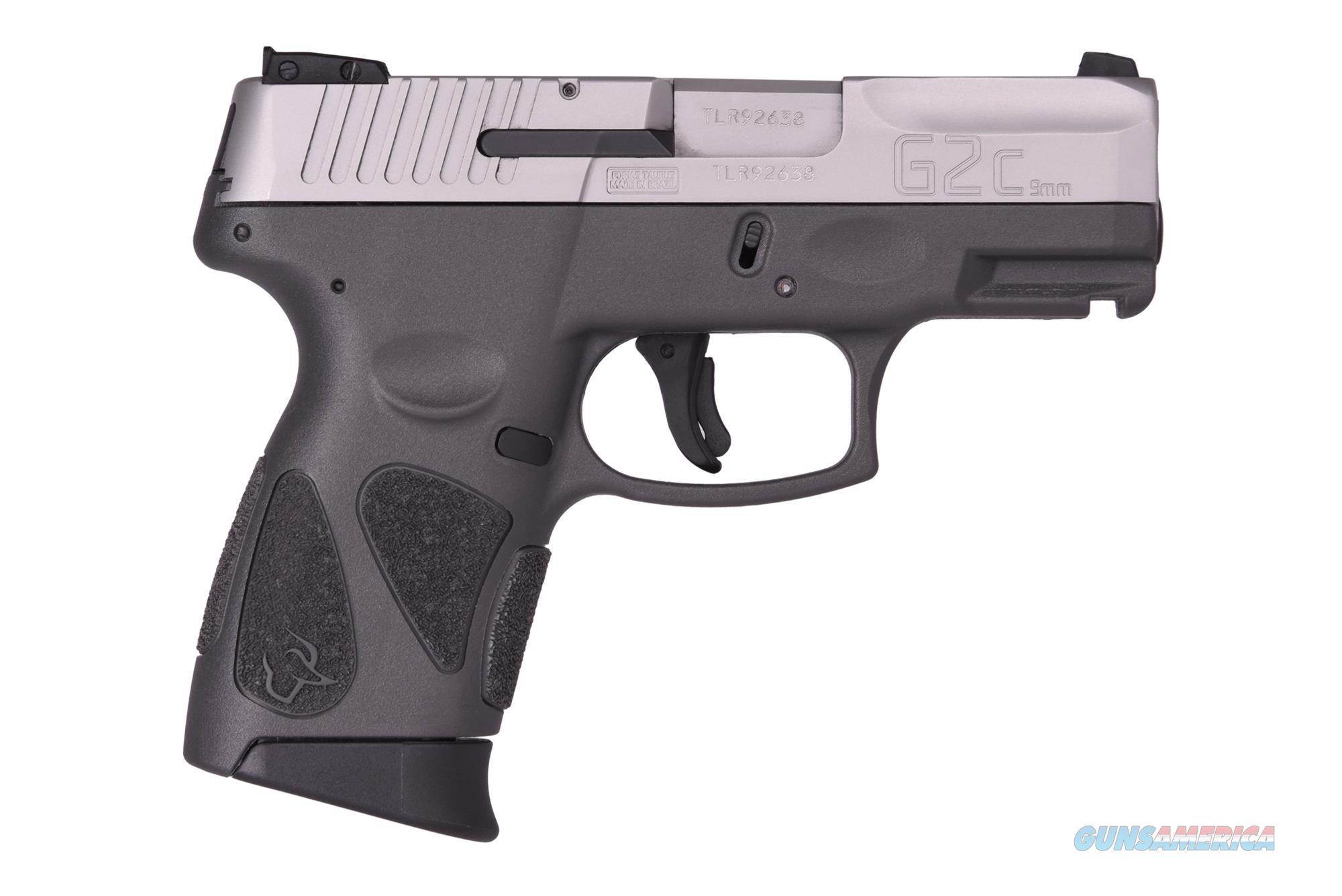 Taurus G2C 9MM SS/GRAY 3.2 12+1 1-G2C939-12G  Guns > Pistols > TU Misc Pistols