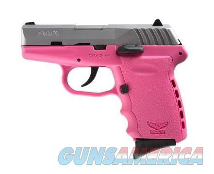 SCCY Industries CPX-2 9MM SS/PINK 10+1 PINK POLYMER FRAME|NO SAFETY  Guns > Pistols > S Misc Pistols