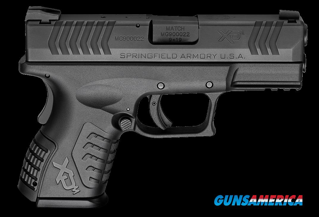 "Springfield Armory XDM9389CBHCE XD(M) 3.8"" Compact 9mm 3.8"" 13+1/ 19+1 (Grip Extension) Black  Guns > Pistols > S Misc Pistols"