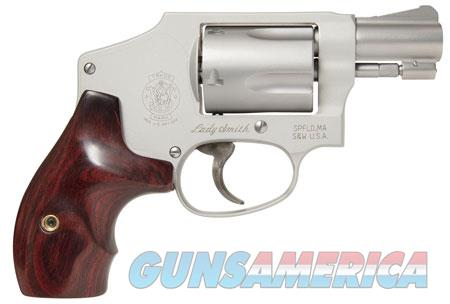 """Smith & Wesson 163808 642 LadySmith Double 38 Special 1.875"""" 5 rd Wood Grip Stainless Steel  Guns > Pistols > Smith & Wesson Revolvers > Small Frame ( J )"""
