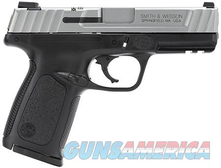 """Smith & Wesson 123403 SD VE *CA Compliant* 40 S&W Double 4"""" 10+1 Black Polymer Grip Stainless Steel  Guns > Pistols > Smith & Wesson Pistols - Autos > Polymer Frame"""