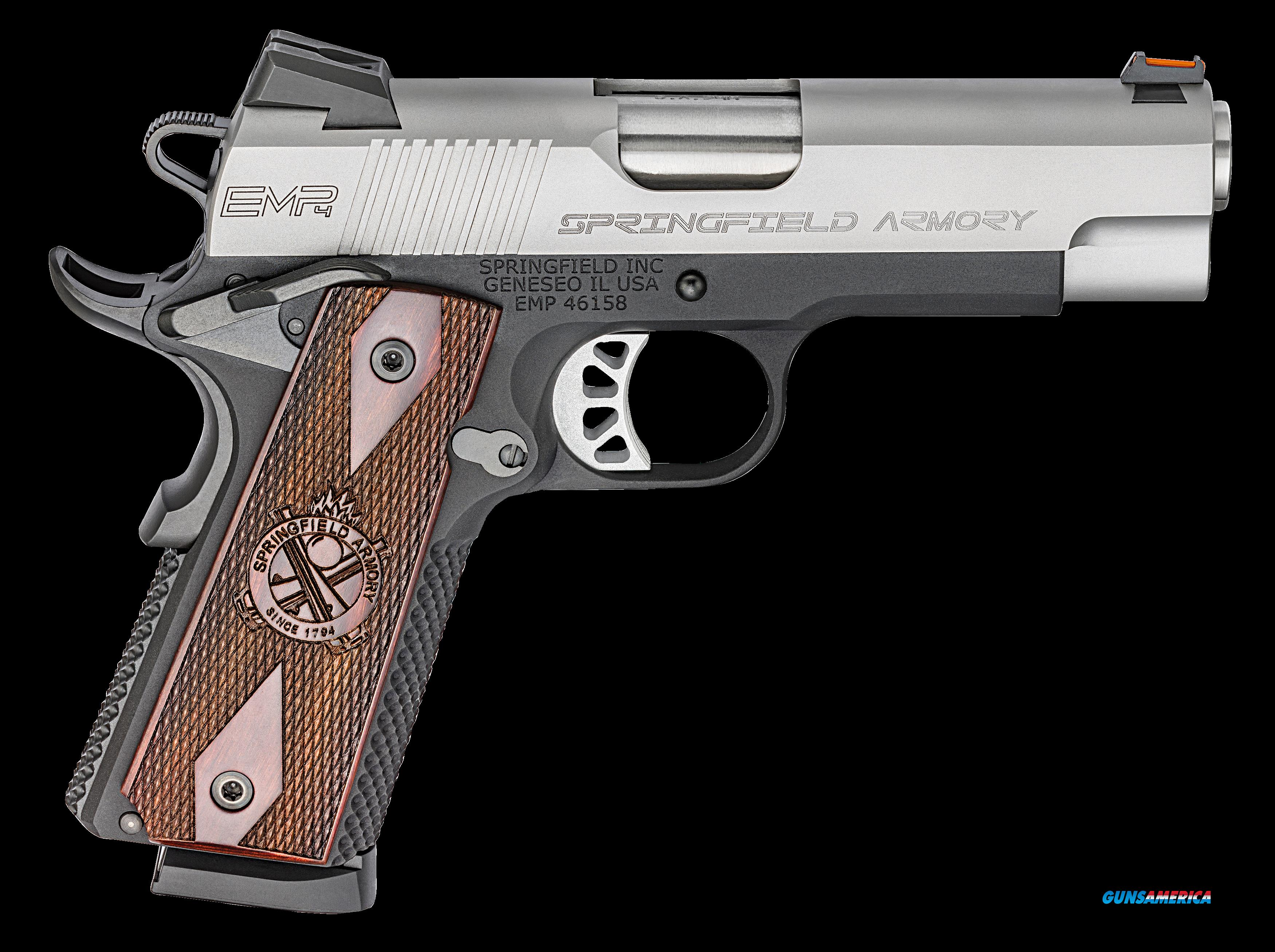 "Springfield Armory PI9209L 1911 Single 9mm 3"" 9+1 Cocobolo Grip Stainless Steel  Guns > Pistols > S Misc Pistols"