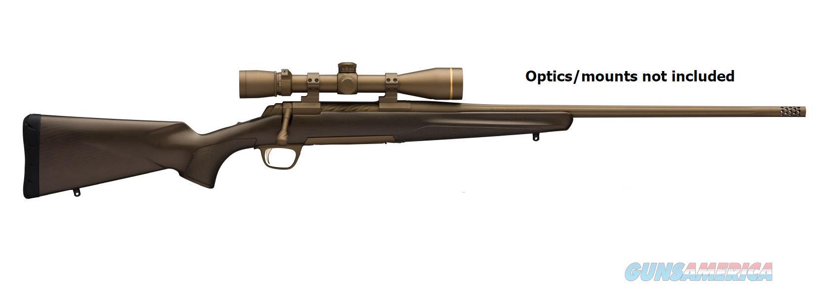 Browning XBOLT PRO 308WIN BRONZE 22 CARBON FIBER | MUZZLE BRAKE  Guns > Rifles > B Misc Rifles