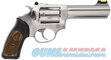 """Ruger 5771 SP101 Standard Revolver 357 Mag 4.20"""" 5 Round Black Rubber w/Wood Insert Grip Stainless  Guns > Pistols > Ruger Double Action Revolver > SP101 Type"""