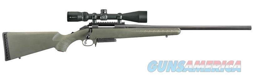 "Ruger 26953 American Predator Bolt 6.5 Creedmoor 22"" 3+1 Synthetic Moss Green Stk Black  Guns > Rifles > R Misc Rifles"
