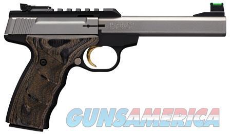 "Browning 051531490 Buck Mark Plus  22 Long Rifle (LR) Single 5.5"" 10+1 Laminate Black Wood UDX Grip  Guns > Pistols > B Misc Pistols"