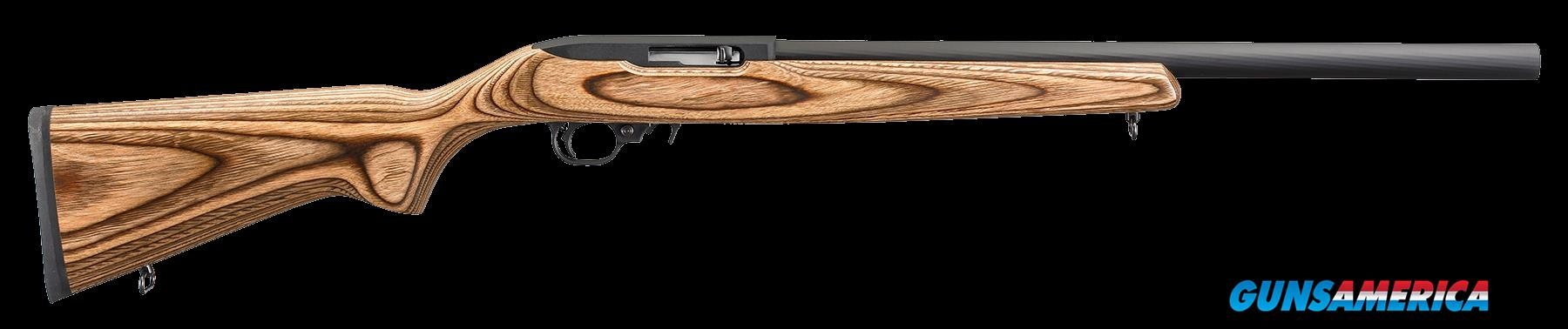 "Ruger 1121 10/22 Target Semi-Automatic 22 Long Rifle 20"" 10+1 Laminate Brown Stk Black  Guns > Rifles > R Misc Rifles"