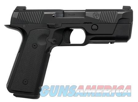 """Hudson HUD001 H9  9mm Luger Single 4.28"""" 15+1 Black VZ G10 Grip Steel Frame Black Slide  Guns > Pistols > Hudson Pistols"""