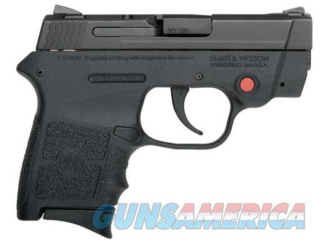 "Smith & Wesson 10048 M&P 380 Bodyguard Crimson Trace 380 ACP 2.75"" 6+1 Black Stainless Steel Black  Guns > Pistols > Smith & Wesson Pistols - Autos > Polymer Frame"