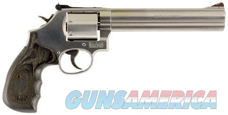 "Smith & Wesson 150855 686 Plus Single/Double 357 Magnum 7"" 7 rd Wood Grip Stainless Steel  Guns > Pistols > Smith & Wesson Revolvers > Full Frame Revolver"