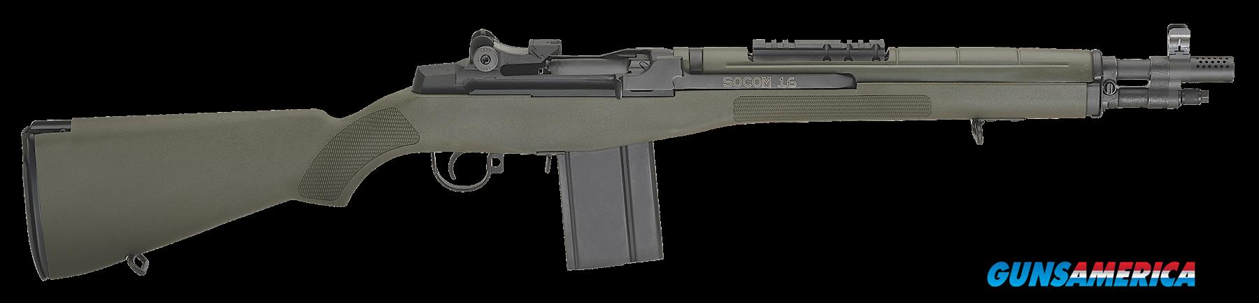 "Springfield Armory AA9625 M1A SOCOM 16 Semi-Automatic 308 Winchester/7.62 NATO 16.25"" 10+1 Synthetic  Guns > Rifles > S Misc Rifles"